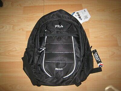 FILA NWT Argus 2 II Mesh Backpack FL-BP-1475-BKGY Grey Neon Black filatech Bp Mesh Backpack