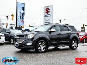 2016 Chevrolet Equinox LTZ AWD ~3.6L V6 ~Nav ~Backup Cam ~Heated