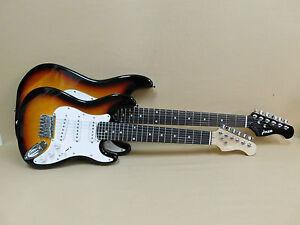 Haze E-110 1/2 Size Sunburst Strat Electric Guitar   Gig Bag   Full Kit!