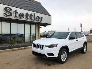 2019 Jeep New Cherokee Sport 4X4! HEATED SEATS! REMOTE START!