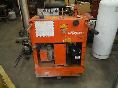 Norton Clipper C-356 Kat Concrete Cutting Saw Takes 141826 Blades