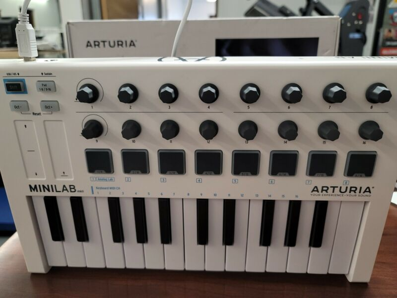 Arturia Minilab mkii Midi Controller With Software Code Bundle