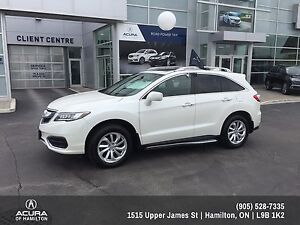 2016 Acura RDX TECH, ROOF RAILS, RUNNING BOARDS, WOOD TRIM