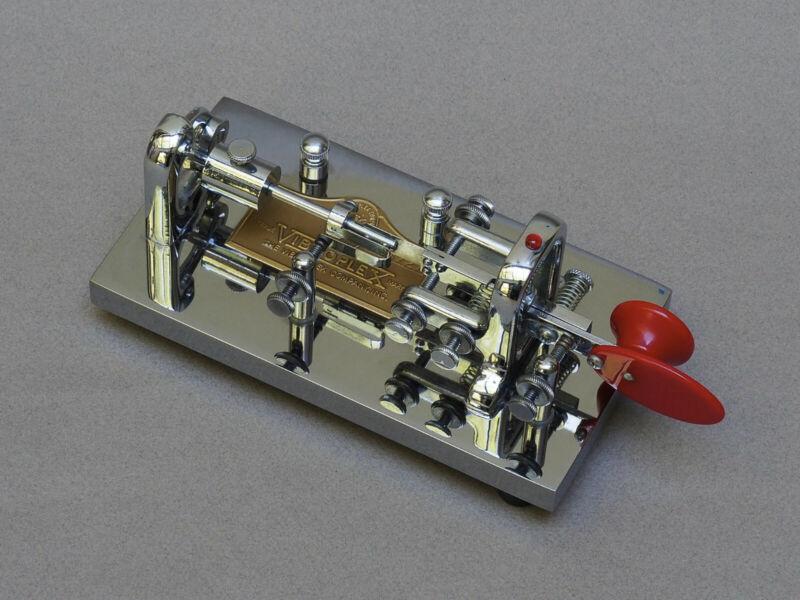NEW 1983/4 Vibroplex Original Deluxe Semi-Automatic Key (Bug)