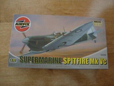 L96 Airfix Model Kit 02040 - Supermarine Spitfire Mk Vc - 1/72