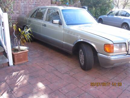mercedes 87 300se w126 in great condition