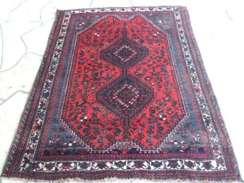 5x6ft. Handmade Quaskoli Tribal Wool Rug