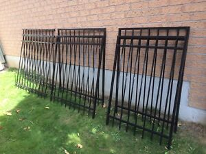 Steel fencing 100$ for all 1st come first serve