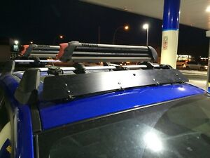 Subaru Roof Rack W/ Inno Fairing
