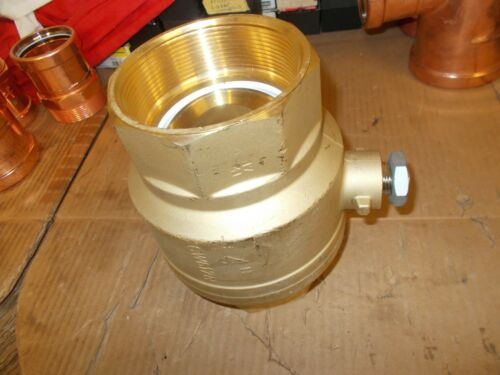 "bb) NEW Italian Brass Ball Valve - CW617N 4"" NPT"