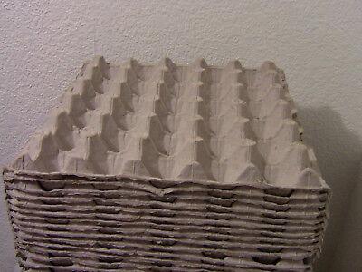20 Pcs Egg Cartons Paper Trays Flats 30 Ct Eggs Crafts