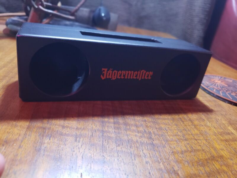 Jagermeister, cellphone, speaker, limited edition collectable.