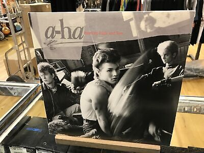 """Used A-Ha """"Hunting High and Low"""" LP-Limited Edition-Clear Vinyl"""