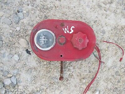 Farmall Ih Super M Sm Tractor Amp Gauge Box Light Switch