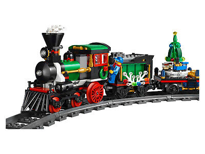 Lego Christmas Winter Holiday Train (10254) NIB Retired WITH POWER FUNCTIONS!