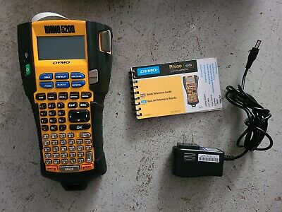 Dymo Rhino 5200 Industrial Thermal Label Maker Carry Case