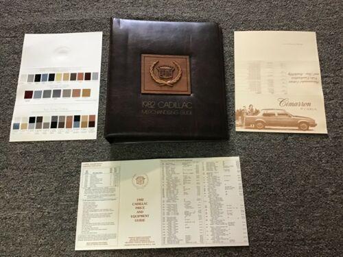 1882  Cadillac original dealership merchandising guide showroom album.