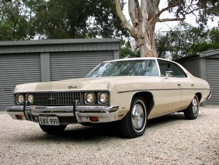 1973 Chevrolet Impala Sports 4 Door Hardtop Adelaide CBD Adelaide City Preview