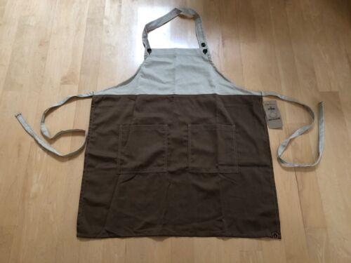 Chef Works Bib Apron-Urban Collection NWT- 2 Pocket