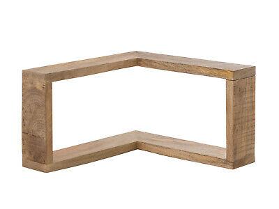 ssiv Holz rustikal Badmöbel Dekoration Regal Wandregal Pune (Regal Dekoration)