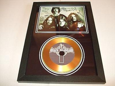 BLACK SABBATH    SIGNED  GOLD CD
