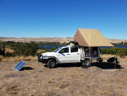 2013 Hilux Topf Top tent, Longe range fuel tank  Perth Perth City Area Preview