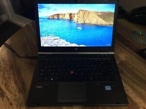 HP Elitebook 8470w i7 laptop $300 or bo
