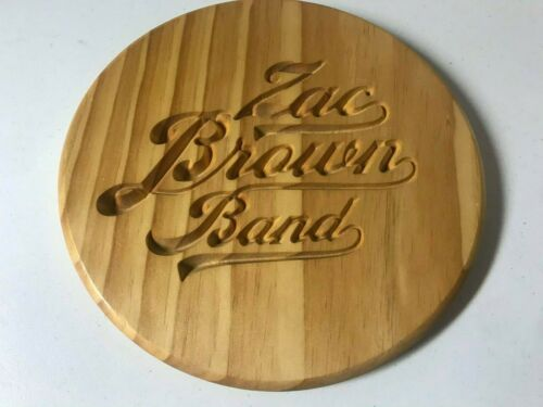 """THE ZAC BROWN BAND ENGRAVED WOODEN CUTTING BOARD 11"""""""
