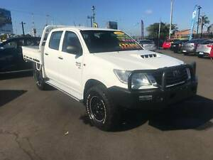 2012 Toyota Hilux SR Double Cab Bundaberg West Bundaberg City Preview