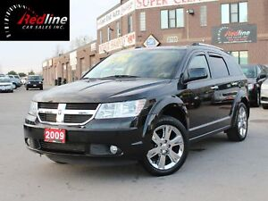 2009 Dodge Journey R/T 7 Passenger-Leather-Camera-Sunroof