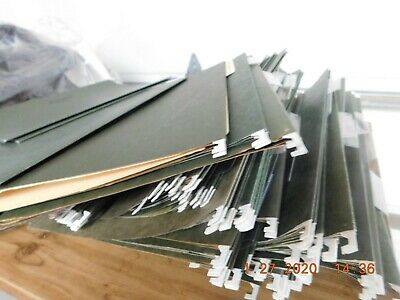Hanging Organizer File Cabinet Folders Letter Size Green Lot Of 30