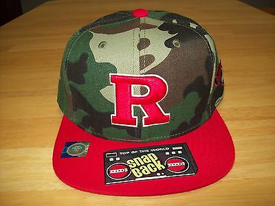 Top Of The World Rutgers Hat   Camo Two Tone   Snapback