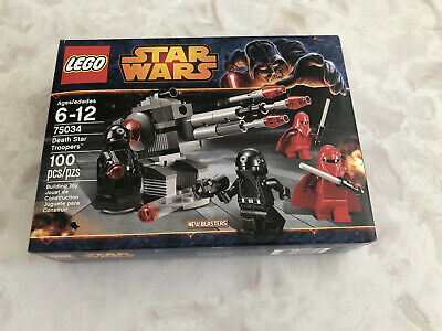 Star Wars ego 75034 Death Star Troopers NEW!! Sealed!!