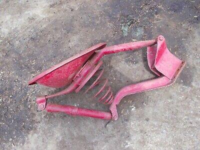 Farmall M Mv H Hv Sh Tractor Original Ih Easy Rider Dual Seat Pan Assembly
