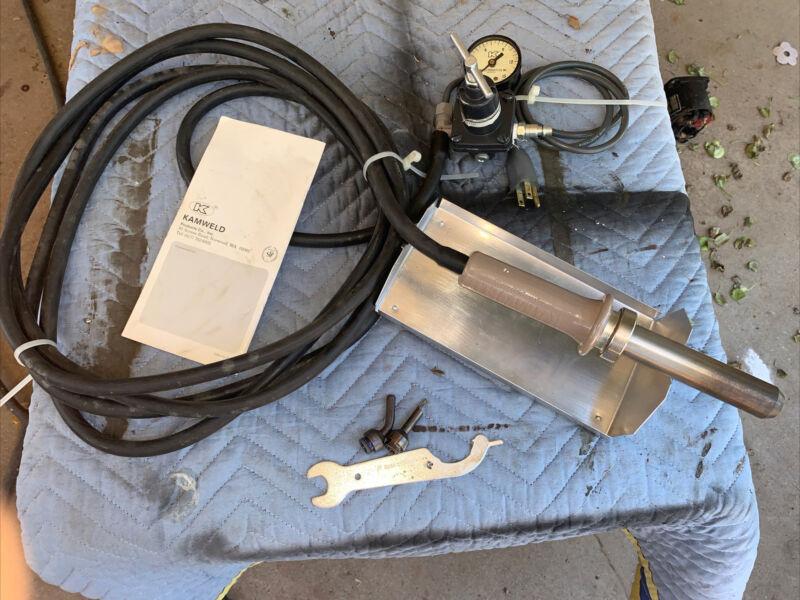 Kamweld 41-TM-450 Plastic Ready Welder with case 2 tips