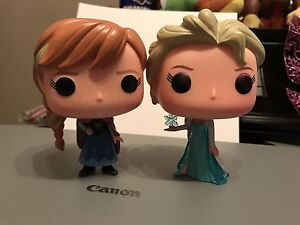 Disney Frozen Funko Pop Figures Anna Elsa