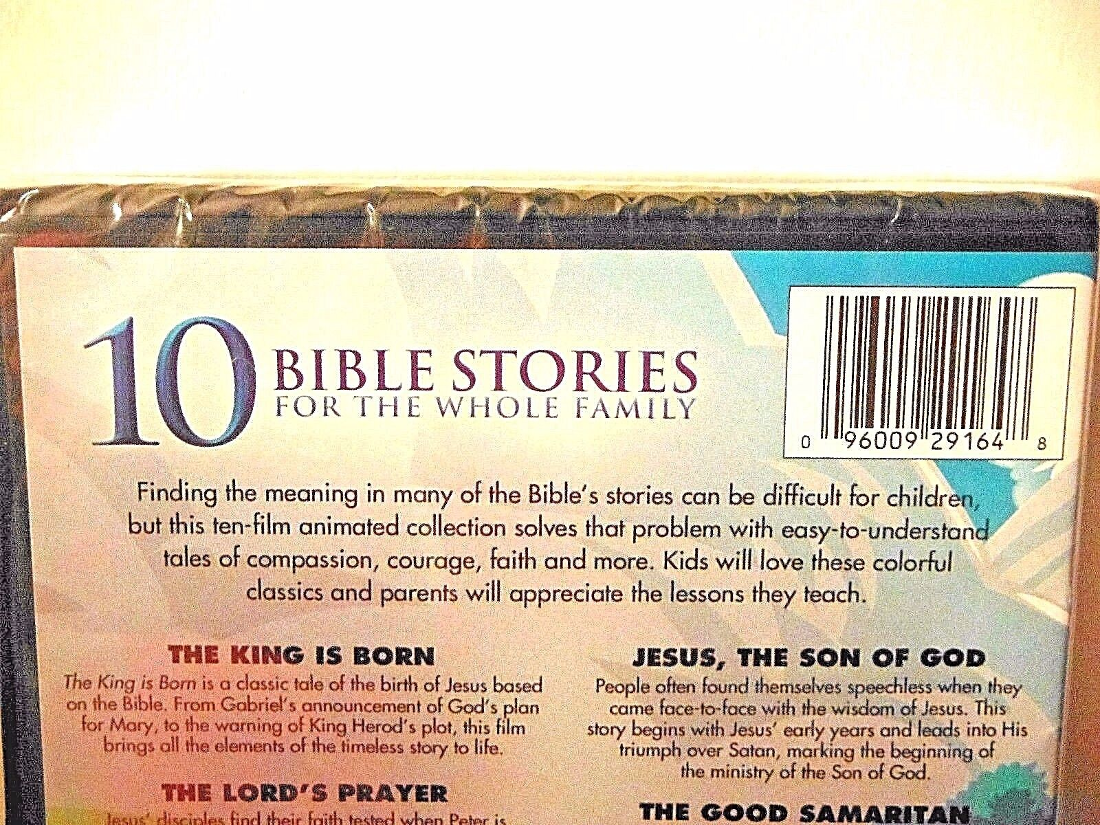 animated kids bible stories 265 minutes brand new sealed dvd moses