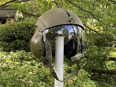 SPH-4 Flight Helmet USGI Gentex Corp Size Regular clear visor USED