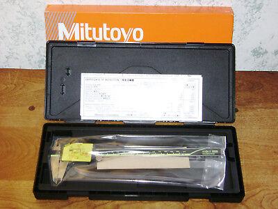 Mitutoyo Digital Caliper No 500-197-30 W Case - 8 Inch - Japan - New Old Stock
