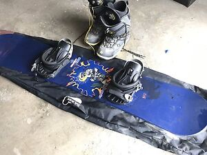 Snow Board & boots