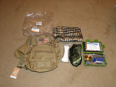 Survival Kit Outdoor Camping Military Backpack Emergency Gear BY TERRATAC