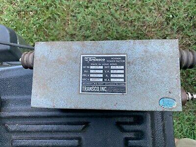 Transco Neon Sign Transformer T1227 12000v 30ma - 277vac Primary