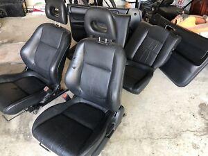 RARE !! Acura Integra leather seats and door panels ! And MINT