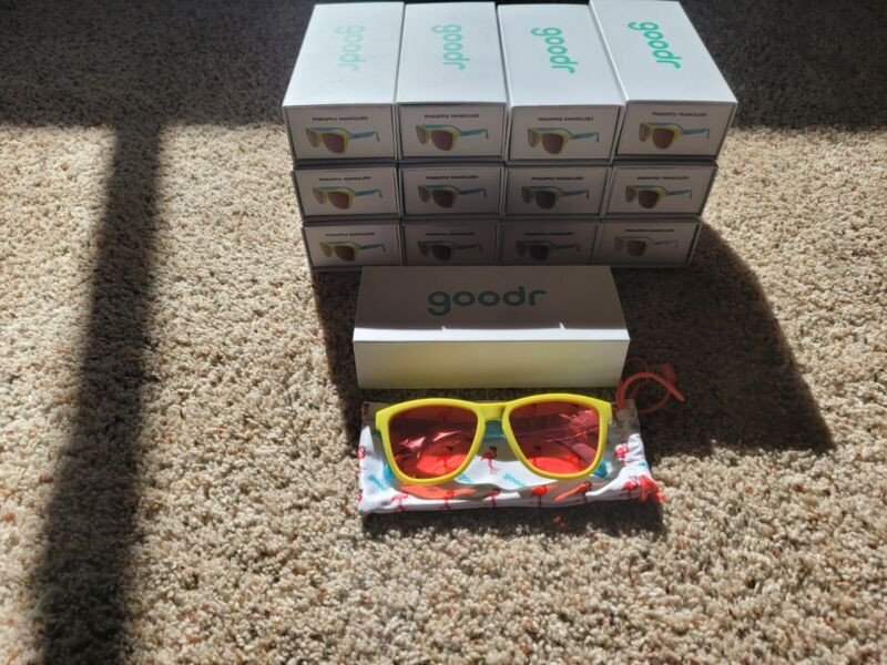 "GOODR sunglasses ""Pineapple Painkillers"" 100% polarized"