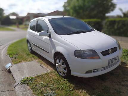 2006 holden barina manual 1.6l petrol registered