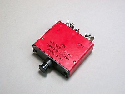 Klixon 6752-37-712 Circuit Breaker 7-12a Aviation Aircraft L454c2001-3 - New