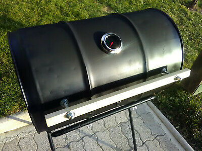 "Oil Drum- Barrel Barbecue Smoker BBQ - Charcoal Oil Drum BBQ ""PRICE REDUCED"", gebruikt tweedehands  verschepen naar Netherlands"