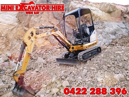 Excavator Tipper Bobcat Hire Hervey Bay Maryborough Earthmoving