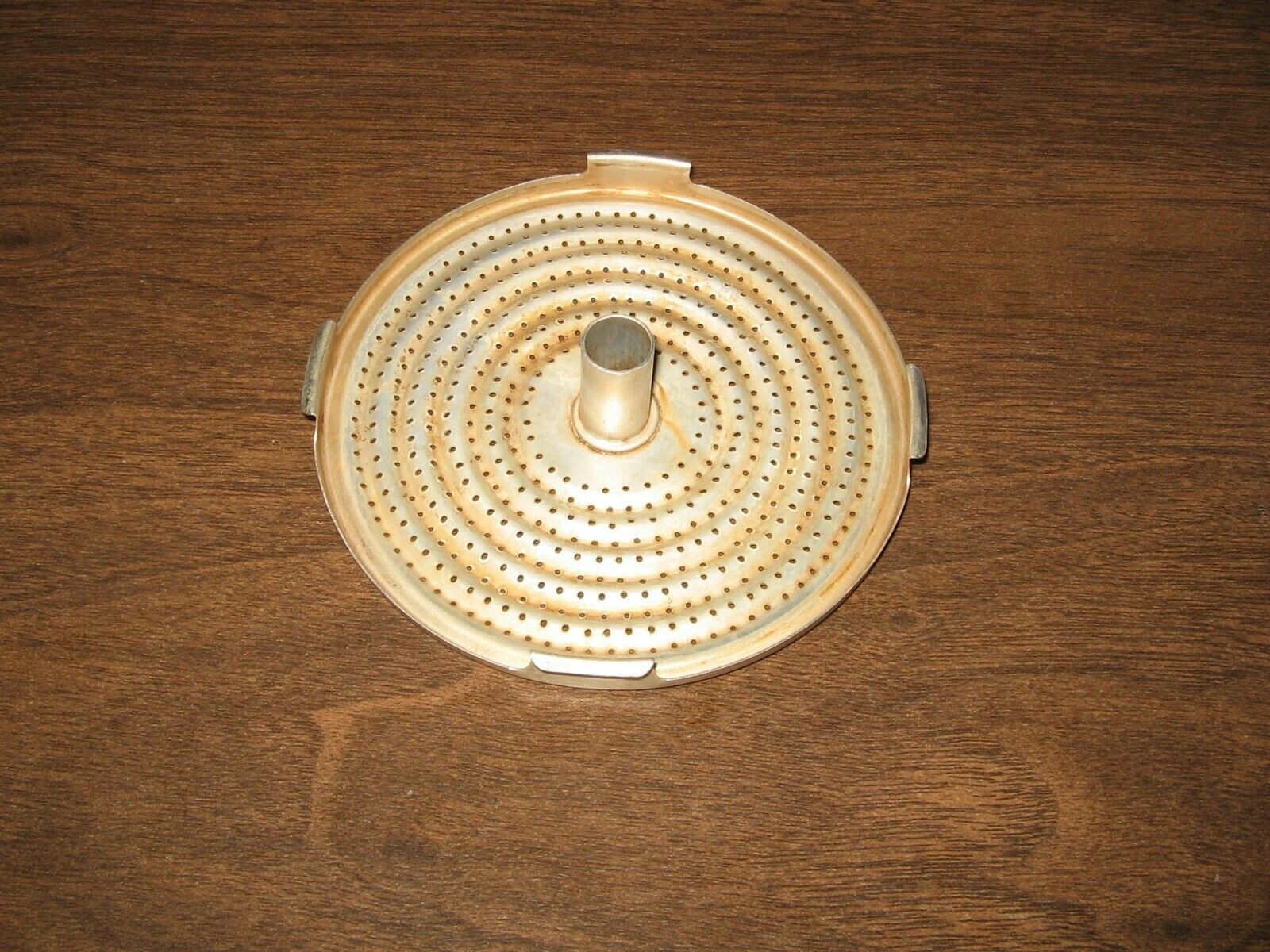 PYREX PERCULATOR BOTTOM STRAINER FOR FLAMEWARE 9 CUP COFFEE POT-USED CONDITION - $9.50