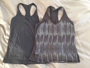 Lululemon & Under Armour tanks